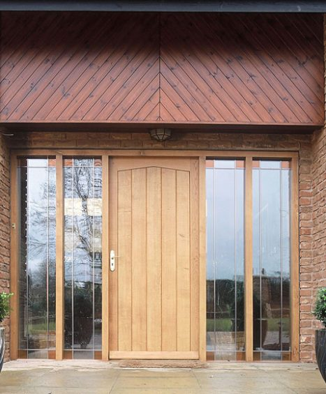 Bespoke External Solid Oak Doors