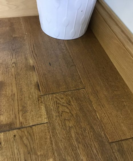 Hand Distressed Cognac Stained & UV Oiled – £33.00 (ex. VAT) per m2