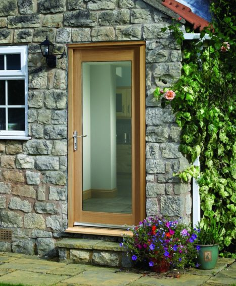 External Oak Door Frame Kit